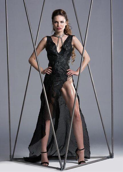 2ndSkinbyAnnomalia Latex Dress