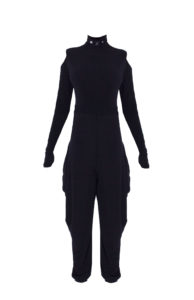 11D Turtleneck jumpsuit Double-sided