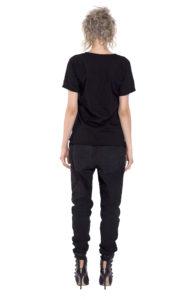 13D Black blouse