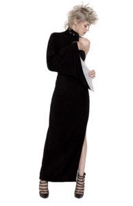 9D LONG dress Double-sided